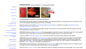 Papergems Site